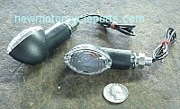 Cat Eye Mini Turn Signal Clear lens